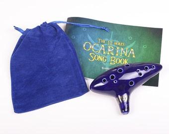 Real Ocarina Inspired In The Legend Of Zelda Songbook Set