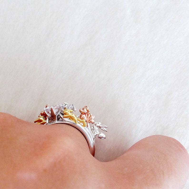 pikachu ring pokemon engagement wedding band