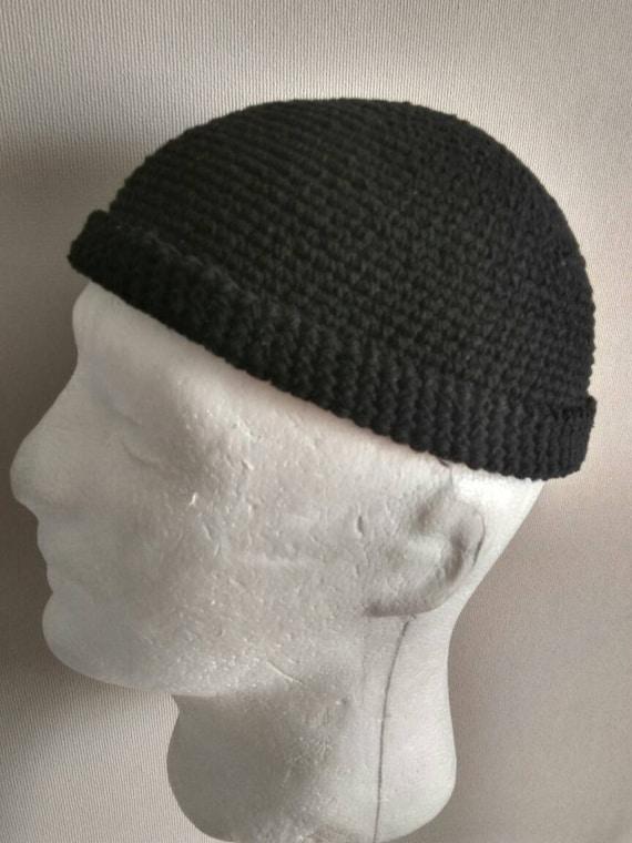 DOCKER STYLE Beanie Cap Leon Hat Black Skull Cap Cotton kufi  8c7a450dca12