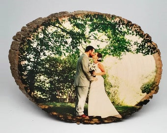 Personalized Wood Picture, Custom Image Transferred to Wood, Design Your Own Wall Decor