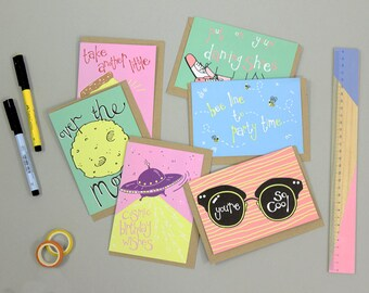 Pack of Greetings Cards, Birthday Cards, Celebration Card, Valentines Card, Multi Pack