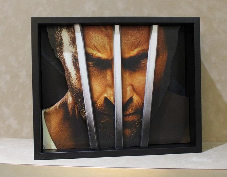 be3785a432f Wolverine, Hugh Jackman, Logan, 3D Art ,X-Men, Marvel Superhero,Pop up Art