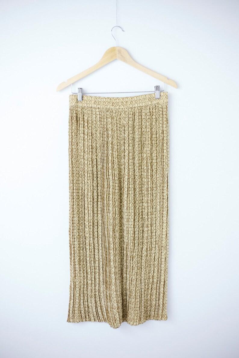 b36a43c3cc Silk Crinkle Pleated Skirt JONES New York Size 12 | Etsy