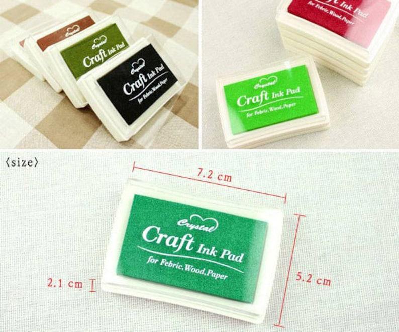 Light Yellow Color Korea Craft Ink Pad Stamp Pad