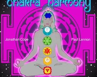 Chakra Harmony - meditation / relaxation / Reiki CD NEW  meditational compact disc by Jonny Cope