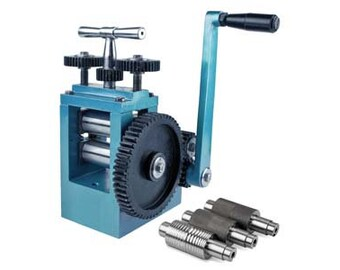 Jewellery rolling mill with rollers. Brand new.