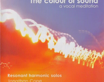 The Colour of Sound - meditational compact disc by Jonny Cope