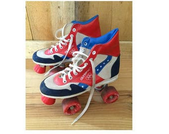 late 70s 80s  rollers SKATE DISCO roller derby // size eu 37-uk4-us6