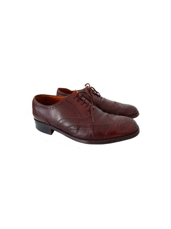 Robe Cuir Richelieus Chaussures Vintage Etsy Bally En Homme PIqXqY