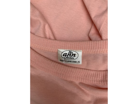 80s cotton oversized DRESS summer dress midi leng… - image 6
