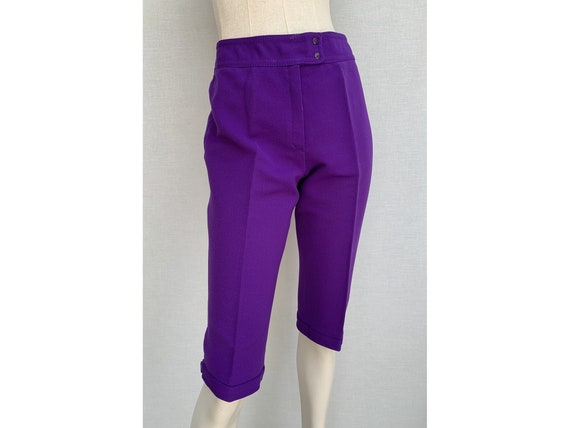 vintage 60s FULSAP Shorts Women Pedal Pusher PANTS