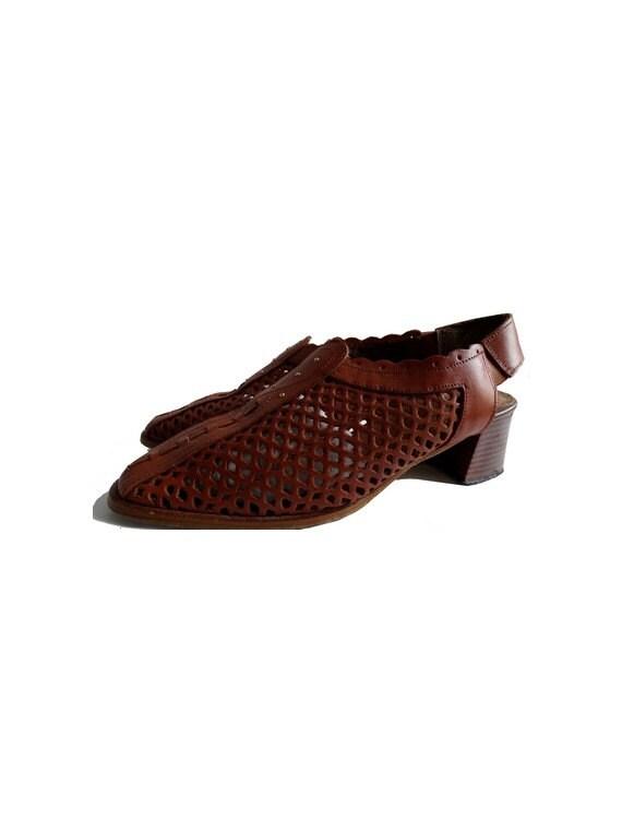 90 s tressé pour un un un bronzage naturel en cuir français chaussures | Les Produits De Base Sont  dbfa2f