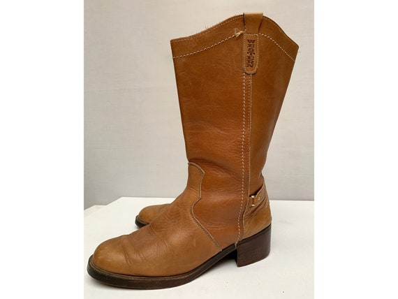 vintage equestrian RIDING  leather BOOTS / Equestr