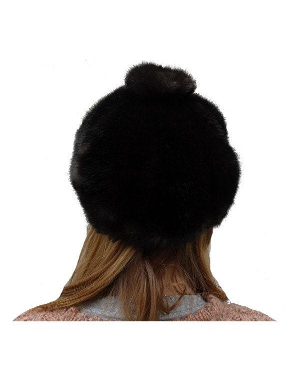 vintage 60s cap // faux fur cap // mod fur cap //… - image 4