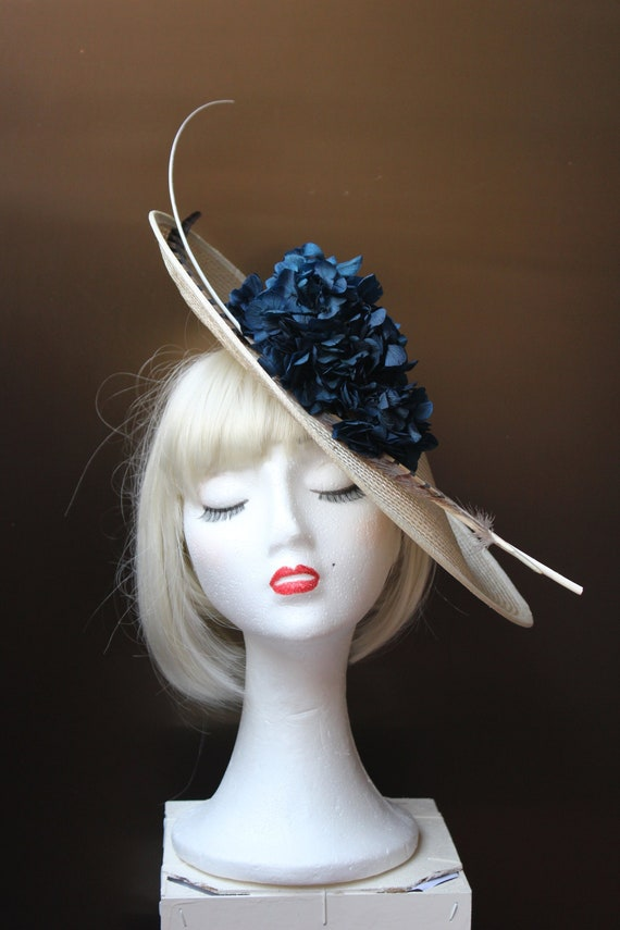 fascinator hat cocktail hat flowers fascinator women  f6db5de008e