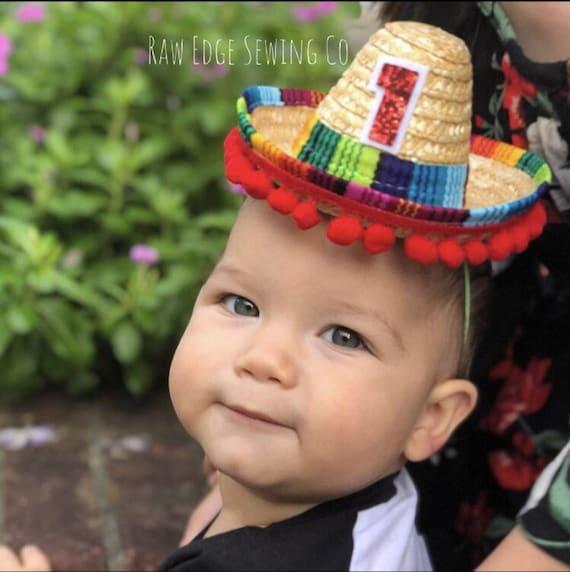 UNO SOMBRERO HAT Birthday Party Mini Sombrero Cinco De Mayo  f1206f7ca7ef
