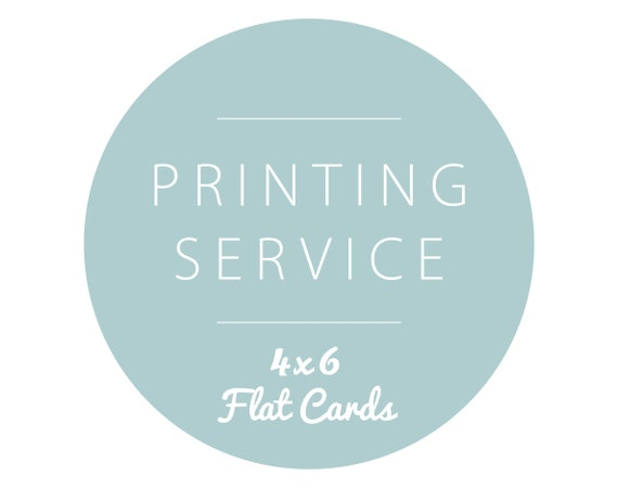4x6 card printing with envelopes set of 10 etsy