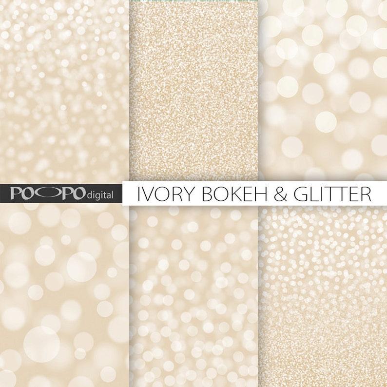 Texture Sfondo Crema Abbronzatura Bianco Beige Avorio Glitter Etsy