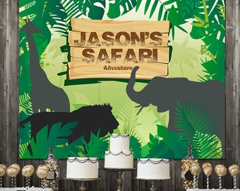 safari backdrop etsy