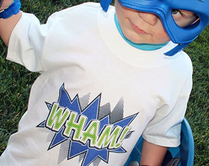 Wham Action Bubble T-Shirts for the Whole Family
