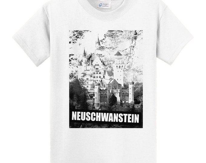 Germany Neuschwanstein Castle Travel T-Shirt