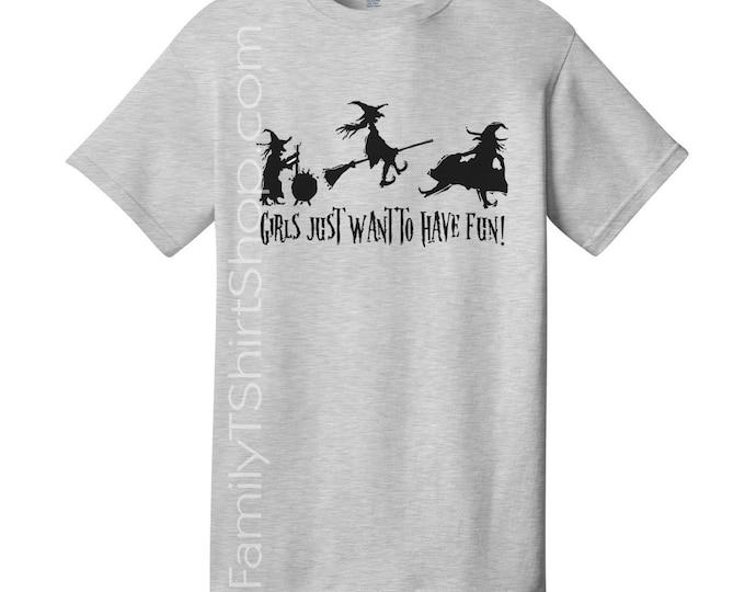 shirts for Women, kids tees, kids shirts, kids tops,  kids t-shirts, Ladies T-Shirts, Girls, Girls Just Want to have fun, fun,