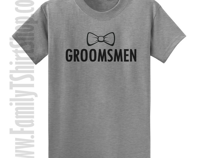 Groomsmen (bow tie) T-shirt