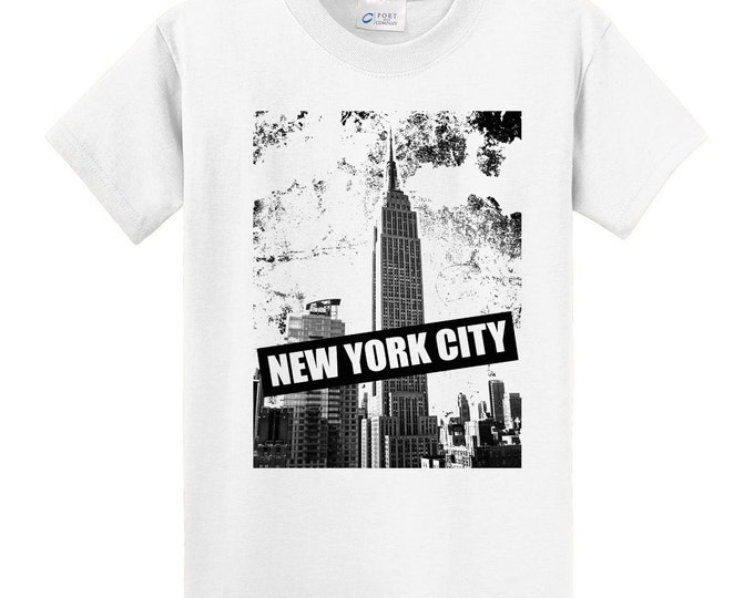 Nerw York City Empire State Building Travel T-Shirt