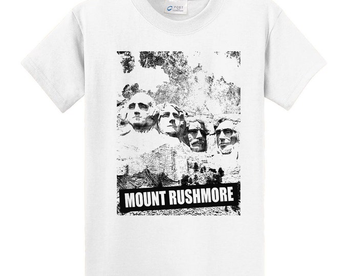 Mount Rushmore Travel T-Shirt