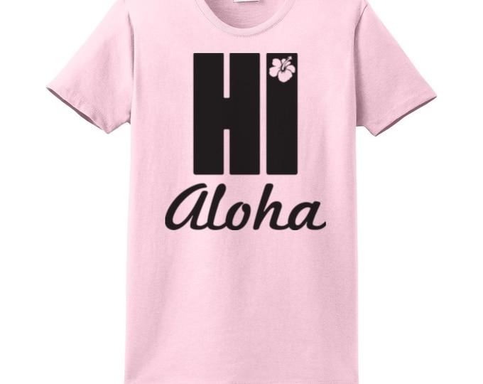Hi Aloha Hawaiian T-Shirts for the whole family