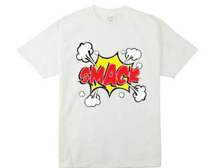 Smack Cartoon Action Bubble T-Shirts for the Whole Family