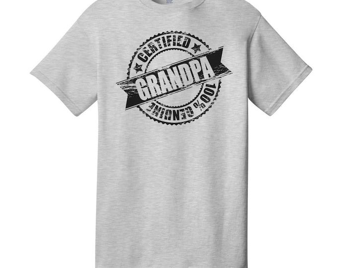 Certified Grandpa T-Shirt
