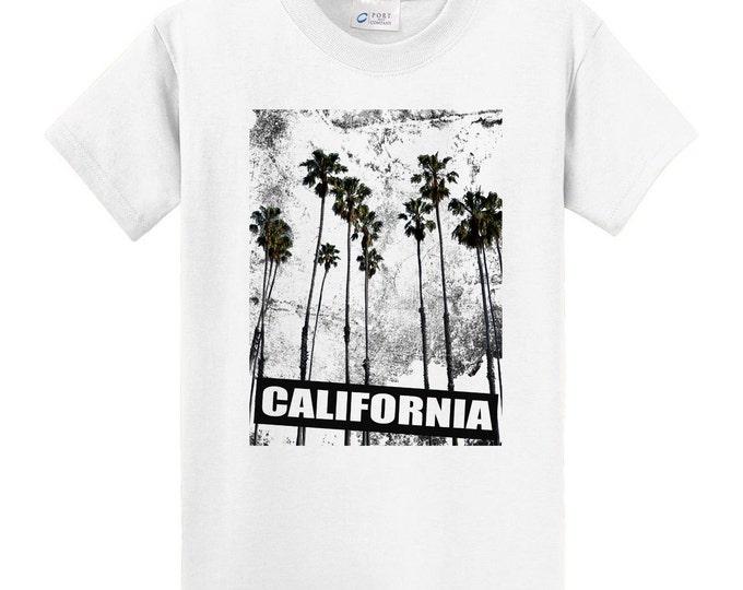 California Palm Trees Travel T-Shirt
