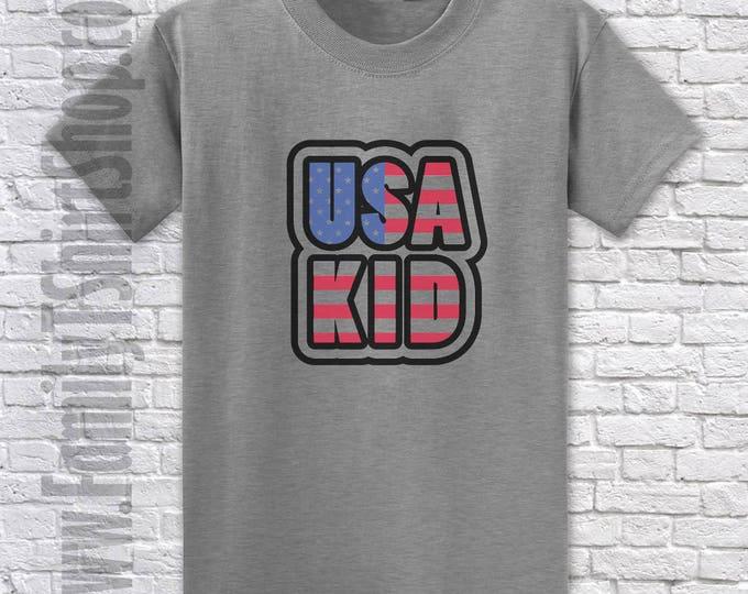 USA Kids T-shirt
