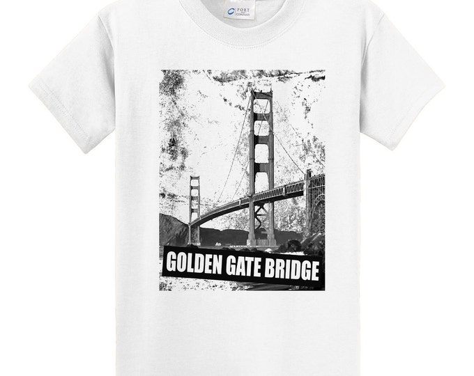 California Golden Gate Bridge Travel T-Shirt