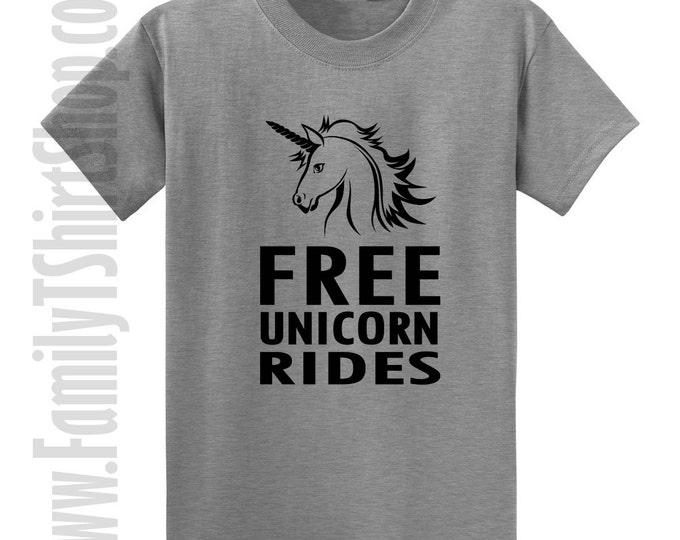 Free Unicorn Rides 2 T-shirt