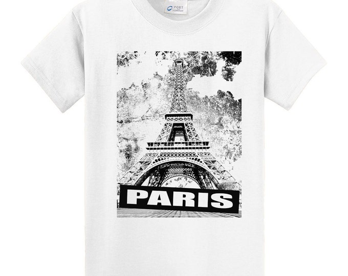 Paris France Eiffel Tower T-Shirts