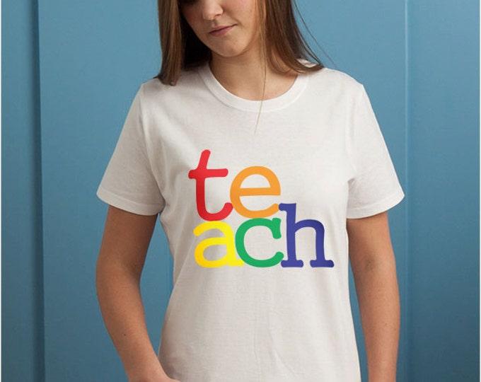 Teach Multi Colored T-Shirt