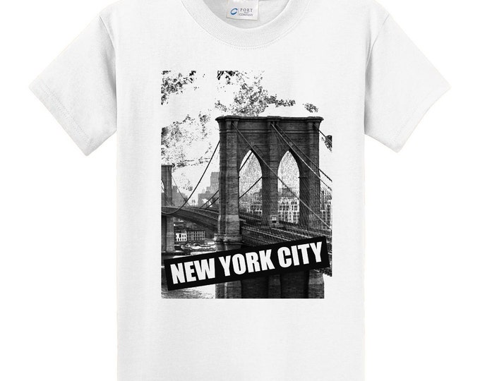 New York Brooklyn Bridge Travel T-Shirt