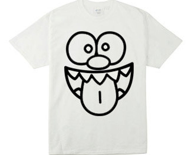 Silly Face - Smiley With Tongue Hanging Out T-Shirts for the Whole Family