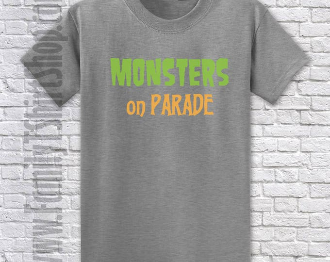 Monsters On Parade T-shirt