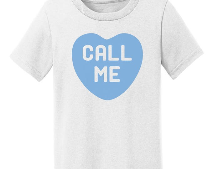 Call Me Candy Heart Valentines Day T-Shirt