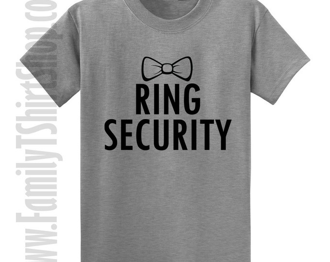 Ring Security Bow Tie T-Shirt