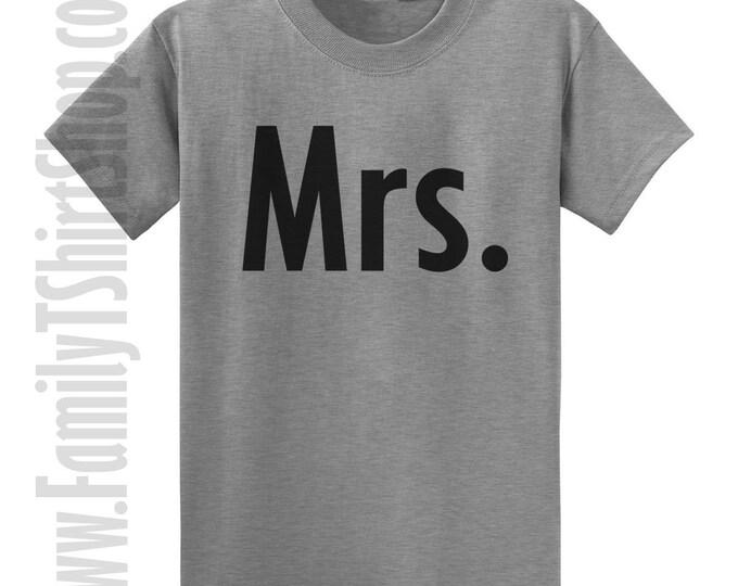 Mrs. 2 T-shirt