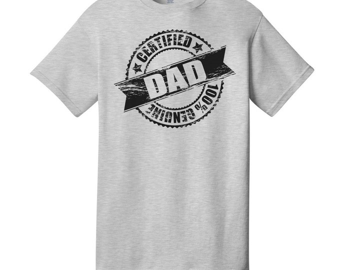 Certified Dad T-Shirt