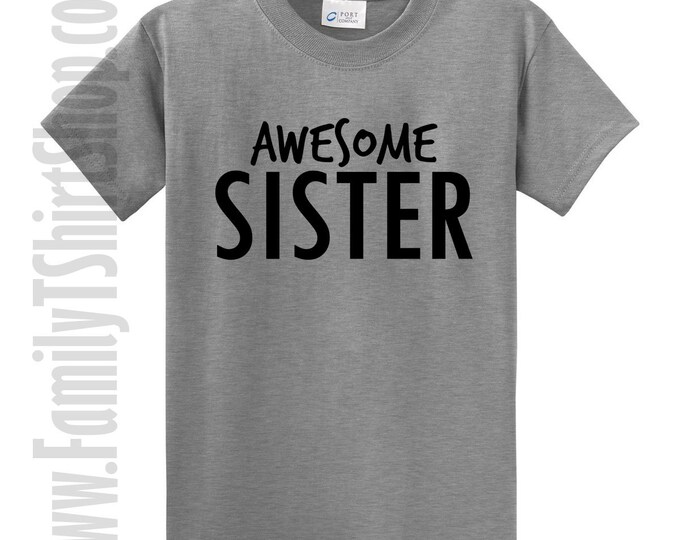 Awesome Sister T-shirt