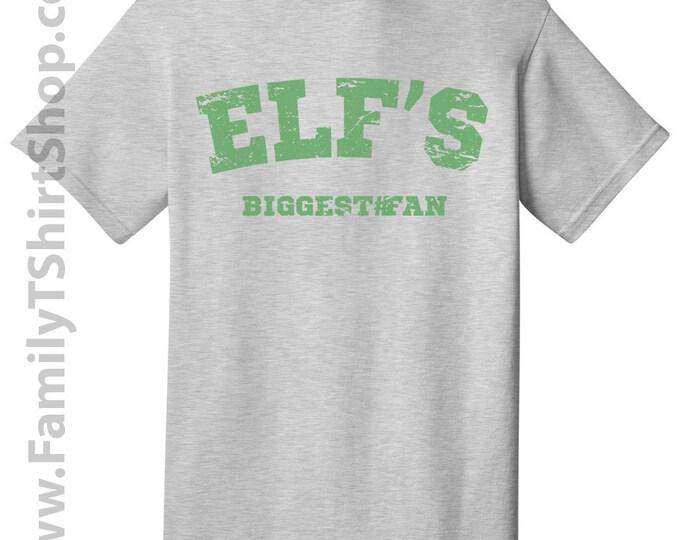 Elf's Biggest Fan - Christmas Tee