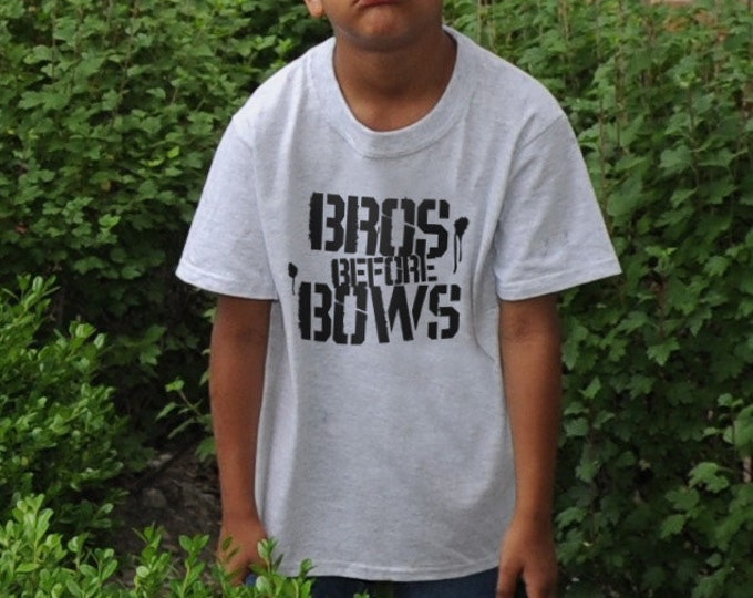 Bros Before Bows T-Shirts or Boys