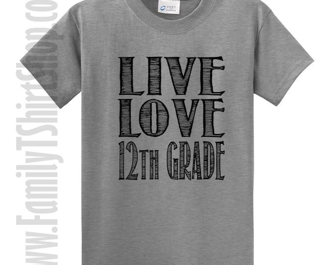 Love Love 12th Grade T-Shirt