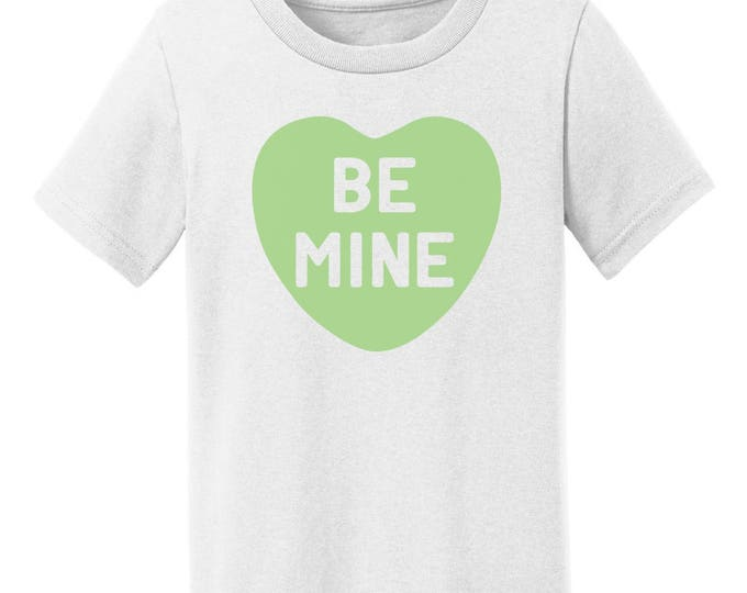 Be Mine Candy Heart Valentines Day T-Shirt